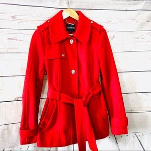Express Red Coat